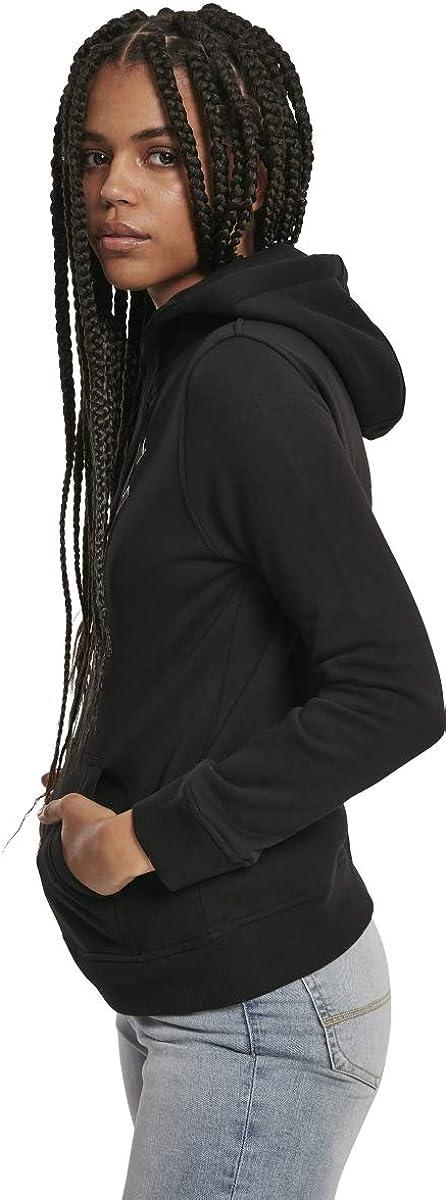 MERCHCODE Ladies ACDC Angus Hoody Sweat à Capuche Femme Noir