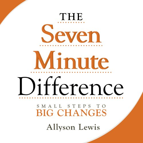 The Seven Minute Difference audiobook cover art