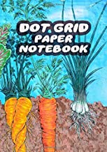 Dot Grid Paper Notebook: Vegan B5 Dotted White Paper Journal For Design, Drawing, Creating Own Bullet Style Journals, Games and More, Size 7 x 10 in | Plants Print
