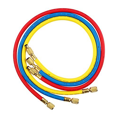 Tubo per impianti di condizionamento auto AC Fluorid, tubo refrigerante R22 R12 R134A, 3 colori, tubo refrigerante 5 FT / 1,5 m