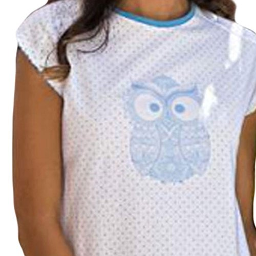 MARIE CLAIRE 4343-96936-AZUL-40 - Pijama Chica Mujer Color: Azul Talla: 40