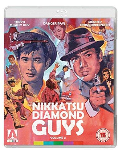 Nikkatsu Diamond Guys Vol. 2 Blu-Ray + DVD [Region A & B] [Reino Unido] [Blu-ray]