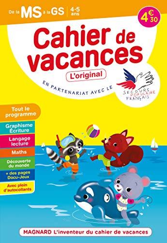 Cahier de vacances 2021, de la MS vers la GS 4-5 ans: Magnard, l'inventeur du cahier de vacances (2021)