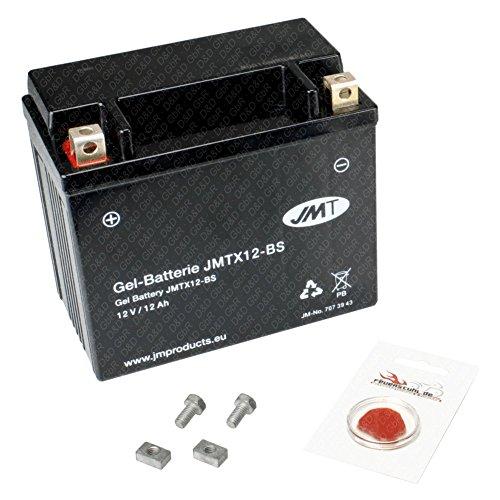 Gel-Batterie für Kawasaki ER-6n ABS, 2005-2008 (Typ ER650A), wartungsfrei, inkl. Pfand €7,50