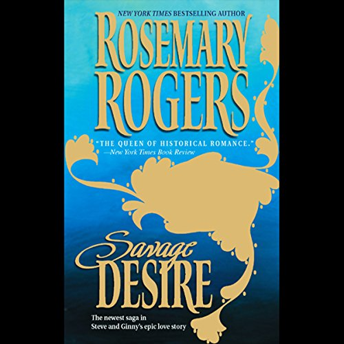 Savage Desire audiobook cover art