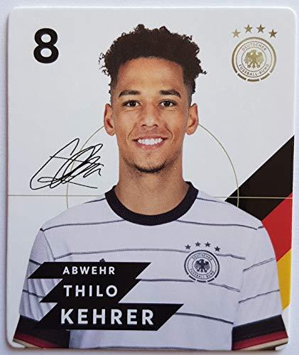 Rewe EM 2020 DFB - Sammelkarten - Normale - Nr. 8 - Thilo Kehrer - Plus 1 spezielle toysagent Sonderkarte