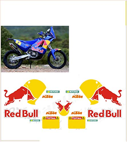 GRAPHICSMOTO set pegatinas decal stickers compatible lc8 990 sm super moto toro 2009 ability to customize the colors