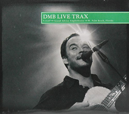 DMB Live Trax Vol. 42 - 9.14.07 Sound Advice Amphitheatre - Palm Beach, FL (3 CD)