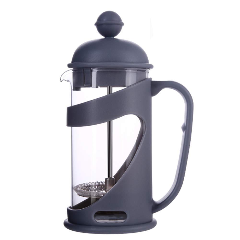 Cafetera Induccion Cafetera Italiana Express De Espresso Molinillo De Café Cafetera Clásica Manual con Filtro Mantener Caliente De Vidrio De Acero Mano Punch GAOFENG (Color : Gray): Amazon.es: Hogar