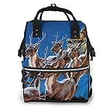 nbvncvbnbv La mochila para pañales está llegando Bolsa para pañales Bolsa para pañales Mochila Bolsas para pañales para el cuidado del bebé