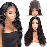 Goldfinch Body Wave Lace Front Closure Wig Human Hair Body Wave 4x4 Lace Closure Wig for Black Women 24 Inches 150% Density Brazilian Virgin Human Hair Wig