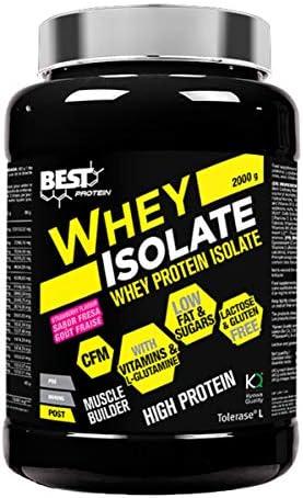 Best protein Whey Isolate - 2 Kg Vainilla: Amazon.es ...