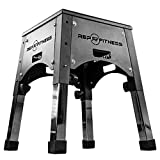 Rep Fully Assembled Adjustable Height Plyo Box 16/20/24 Plyometric Box for Agility Workouts and Box...