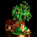 EDCAA LED light for Ideas Winnie The Pooh Exclusive Set Compatible with Lego 21326 (NOT Include The Model)