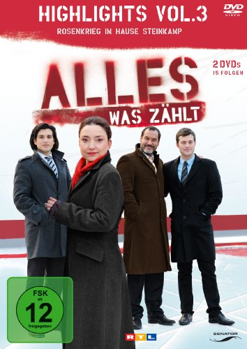 Alles was zählt - Highlights 3 (2 DVDs)