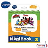 V Tech - MagiBook - Le travail en équipe avec Mickey et ses amis !
