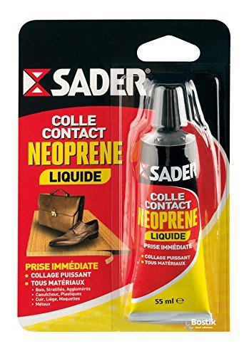 Sader Colle Contact Néoprène liquide tube, 55 ml