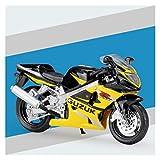1:18 para Suzuki GSX-R1000 Alloy Diecast Modelo De Motocicleta Forma De Juguete De Absorción De Colores para Niños para Niños Colección De Juguetes (Color : 3)