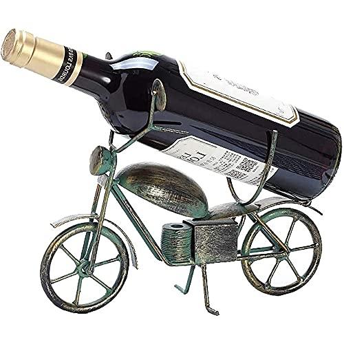 YQWYS Estilos de Vino creativos de Estilo Europeo, Decoraciones, Personalidad Moderna y Simple Botella de Vino, Decoraciones del gabinete de Vino,Green