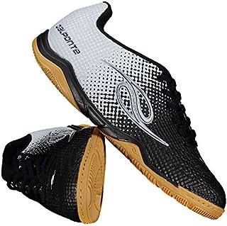 ea870d9cc7e12 Chuteira Dalponte Flash Futsal Preta e Branca