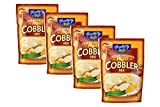 Hospitality Easy To Make Fruit Cobbler or Fruit Crisp Mix in a 7 oz. Packet. Fast, Easy and Delicious. Use your favorite fresh, frozen or canned fruit to create a delicious dessert in minutes. Simply add water and fruit to the mix, bake and serve! Pi...
