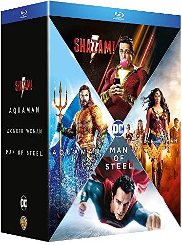Origin Stories - Man of Steel + Wonder Woman + Aquaman + Shazam! [Francia] [Blu-ray]