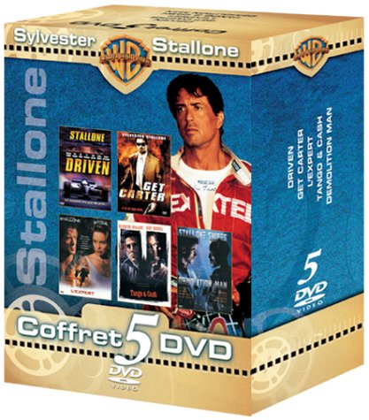 Coffret Sylvester Stalone 5 DVD : Driven / Get Carter / L'Expert / Tango & Cash / Demolition Man