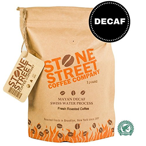 Swiss Water Process Decaf Whole Bean Coffee | 1 LB Bag | RFA Certified...