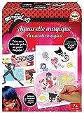 Educa - Manualidades Miraculous Lady Bug Mágicas, Incluye 5 Cuadros para Colorear, 12 Acuarelas y 2 Pinceles, a Partir de 7 años (18930)