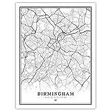 Leinwand Bild,Birmingham Großbritannien Großbritannien