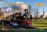 Dampfbahn-Route Sachsen 2019: Kalender 2019 - VG-Bahn