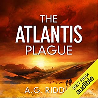 Page de couverture de The Atlantis Plague