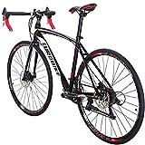 Road Bike XC550 Bicycle 49 cm Frame Bikes for Adults Dual Disc Brake Road Bikes for Men Bicycle