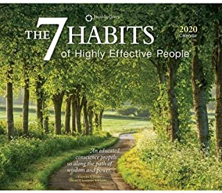 2020 The 7 Habits of Highly Effective People 365 Page-A-Day (Full Color) Boxed Calendar