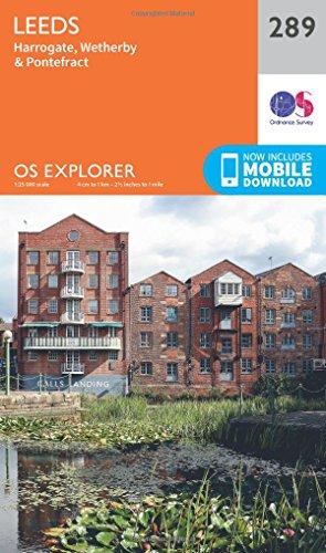 OS Explorer Map 289 Leeds OS Explorer Paper Map