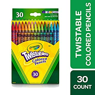 Crayola Twistables Colored Pencils, 30 Count, Assorted Colors, Gift (B000REI1FU) | Amazon price tracker / tracking, Amazon price history charts, Amazon price watches, Amazon price drop alerts