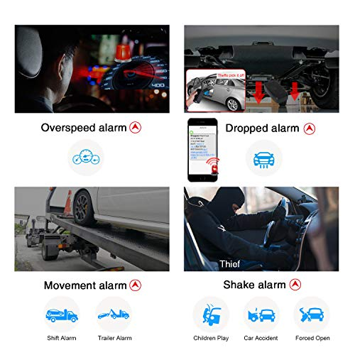 Car Tracker Device-Lifetime Free Tracking Real Time 3G GPS Tracker Car Tracking Device Hidden Outdoor Strong Magnet Gear Waterproof Locator for Fleet Vehicle Motorcycle Truck Magnets 6000mAh