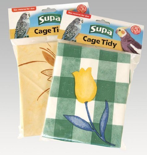 Supa Cage Tidies Bird Cage Floor Cover Extra Large by Supa
