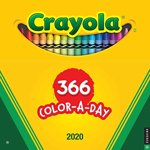 Crayola 2020 Wall Calendar: 366 Crayon Colors