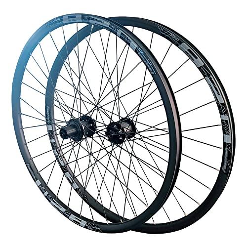 Set Ruote Bici Mountain 29/27.5 Pollici Full Fibra di Carbonio Set di Ruote per Mountain Bike Freno a Disco Ruote MTB Mozzo 120-sound 24H-28H Raggi 29 inch