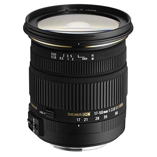 Sigma Obiettivo 17-50mm F2.8 EX DC , Attacco Sony, Nero