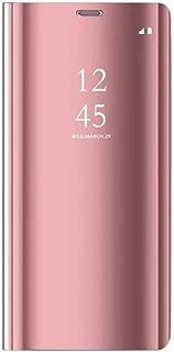 Caler Coque Samsung Galaxy S7Edge Étui Samsung Galaxy S7Edge Miroir Portefeuille