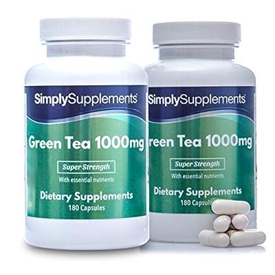 Green Tea Extract 1000mg - 2X 180 = 360 Capsules
