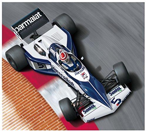 Brabham bt521983Monaco GP Ver Formule 1(Nelson Piquet) 1: 20Model Kit Kit beemax Aoshima 098233