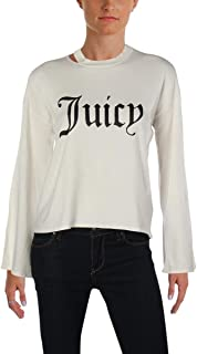 Black Label Women's Logo Split Sleeve Cut Out Sweater