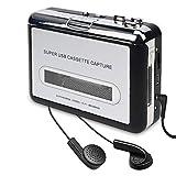 Tobo Cassette Player – Portable Tape Player Captures MP3 Audio Music via USB