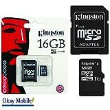 originale kingston microsd 16gb scheda di memoria per sony xperia z5/z6mini–16gb