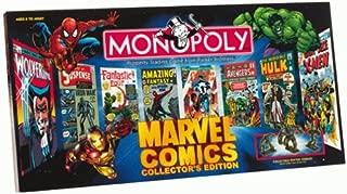 marvel monopoly collectors edition