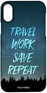 Macmerise IPCIPXPMI3230 Travel Work Save Repeat - Pro Case for iPhone X - Multicolor (Pack of1)
