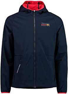 Red Bull Formula 1 Aston Martin Men's Blue Soft Shell Fleece Jacket